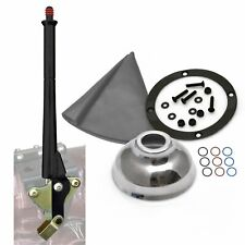 16 Black Transmission Mount E-Brake with Grey Boot, Black Ring and Cap hot rod