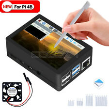 Raspberry Pi 4 ABS Case with 3.5 Inch Resistive TFT Touch Screen Display 320x480
