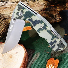 High Performance Sanrenmu 7095 serie small multifunction folding knife camo