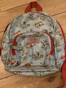Cath Kidston Kids Mini Backpack/Rucksack With Airplane,Trains And Car Print