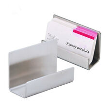 5PCS Stainless steel business card display Holder Name card stand MA1 General