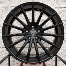 "22"" Lexani Pegasus Wheels Fit Mercedes Benz G Class G500 G550 G55 G63 Black Rims"