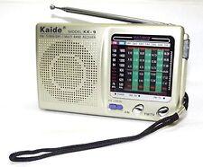 Radio Portatile Pulsation KK-9 FM Tv1-5ch MW SW1-7 9 Bande Ricevitore Audio hsb