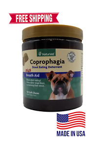 NaturVet Coprophagia Stool Eating Deterrent 130 Chews FREE SHIPPING