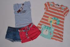 Kombi 2x Shorts George / Primark + 2x Shirt Mini Club / George, Gr. 104 110, neu