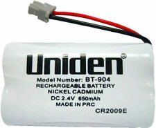 UNIDEN ORIGINAL GENUINE BT904 BT-904s CORDLESS PHONE RECHARGEABLE BATTERY 650mah