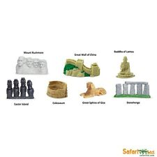 WORLD LANDMARKS - Safari Ltd toys - Toob of 7 small replica -  wedding favours?