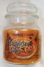 Yankee Candle PUMPKIN PATCH Medium Jar 12 Oz Swirl HARVEST & SPICED PUMPKIN Wax