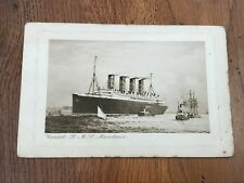 early 1900s cunard - r.m.s. mauretania