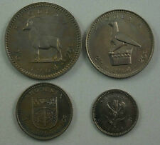 RHODESIA BRITISH PROTECTORATE 4 Coins 1964 Proof Set KM PS2