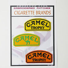 CAMEL TROPHY Land Rover Tobacco Iron-On Patch Super Set #049 - FREE POSTAGE!
