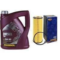 Ölwechsel Set 5L MANNOL Diesel TDI 5W-30 + SCT Ölfilter Service 10164251