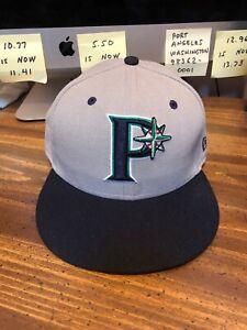 Pulaski Mariners New Era™ 5950 59FIFTY™ Hat Cap Size 7 1/4