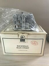 """Limited Edition Rhodes Studios """"The Antique Shop"""" Rockwell's Main Street 1989"""