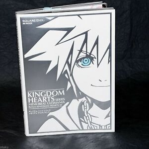 Kingdom Hearts Series Memorial Ultimania - GAME ART BOOK NEW
