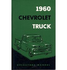 1960 Chevy Truck Owner's Manual