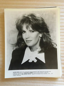 Jaclyn Smith 1989, original vintage press headshot photo