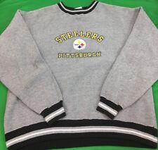 Vintage años 90 Pro Player Pittsburgh Steelers NFL Manga Larga Cuello  Redondo Talla XL Big Logo s 65b9495b395