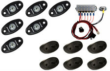 RIGID 400263 A-Series Rock Light Kit 6 LED Light Kit RED Under Car Lights 12v