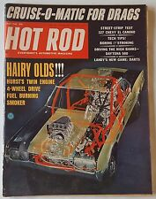 May 1966 Hot Rod Magazine Cruise-O-Matic for Drags Ford Street-Strip Test 327 Ch