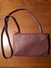 Pull and Bear Red Cross body Purse Wallet Hand Bag RARE