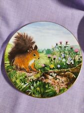 Royal Doulton Plate. Autumn Store. Country Wildlife Collection
