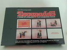 Vintage New Sealed - Escapades - Rare Adult Board Game - Unused Collectible Box
