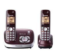 Panasonic KX-TG6572R DECT 6.0 Plus Expandable Digital Cordless Answering System