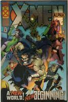 X-Men Alpha #1 Chromium Wraparound Variant Cover Marvel Comics 1995 HIGH GRADE