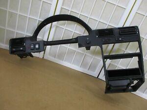 90-93 Honda Accord Gauge Cluster Radio Climate Control Dash Bezel w/ Switches