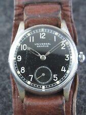 alte Dienstuhr Universal Geneve Wehrmacht WW 2 Deutsches Heer