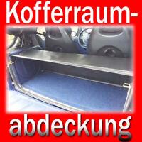 Smart Fortwo Cabrio 450 Laderaumabdeckung schwarz Kofferraumschutz Blende
