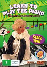 LEARN TO PLAY THE PIANO WITH MIMI THE MUSICAL CLOWN (STAGE 2) KIDS LEARNING DVD