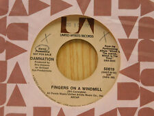 Damnation 45 Fingers On A Windmill / Stereo, Mono ~ United artists VG++