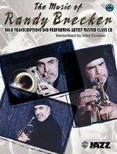 The Music of RANDY BRECKER Play Learn Trumpet Book & CD