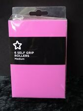 Boxes Set Of 6 Medium Self Grip Rollers - Unopened.