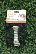 Hiho Australia Dog Toys - TOUGH Nylon Bacon Flavoured Chew Toy - Small Size Bone