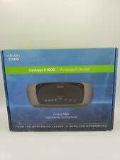 Cisco Linksys E1000 Wireless Router 10/100 Ports 2.4Ghz  Pre-Owned