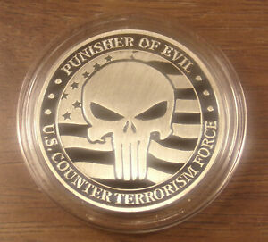 U.S. Counter Terrorism Force...Punisher Of Evil...In Stock.. Ships From Ohio
