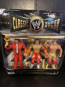 Hulk Hogan Brutus Barber Beefcake Jimmy Hart WWE Classic Superstars 3 Pack WWF