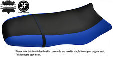 Noir & bleu royal custom fits sea doo gsx gs rfi 96-04 vinyle housse de siège + sangle