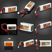 ZOP Power 11.1V,7.4V, 3.7V  800-2200mAh 20C 25C Lipo Battery JST /T/