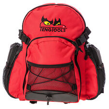 Teng Tools Red Backpack Rucksack with Embroidered Logo