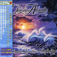VISIONS OF ATLANTIS - ETERNAL ENDLESS INFINITY NEW CD