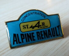 RARE PIN'S CONCENTRATION STAR CLUB AQUITAIN ALPINE RENAULT