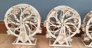 Personalised Laser Engraved Wooden Ferris wheel