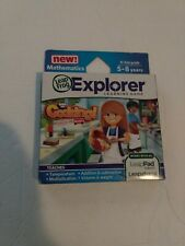 LEAP FROG LEAPSTER LEAPPAD EXPLORER GAME COOKING RECIPES ON THE ROAD 5-8 YRS