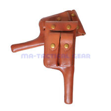 Reproduction WW2 WWII German Army Mauser Leather Holster C96 Stock Broomhandle