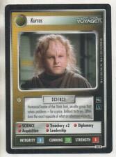 "Star Trek Voyager CCG RARE Card No.165R ""Kurros"""