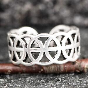 Silberring Silber 925 Ring  Verstellbar Offen R0623 Flexibel, offen, modern